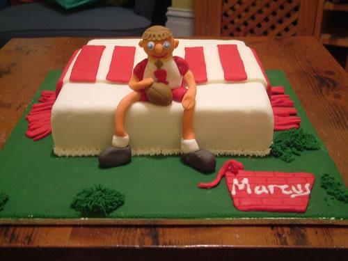 Soccer Fan Cake