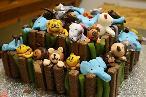 Christening Cake  Noahs arc