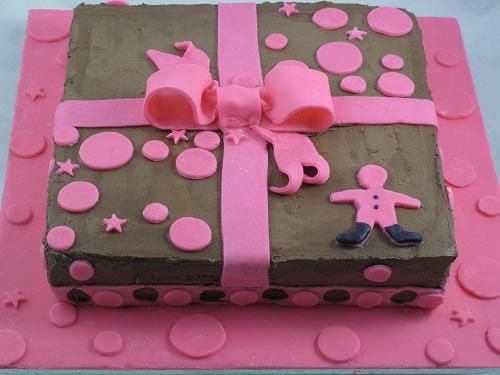 Chocolate Little girls cake