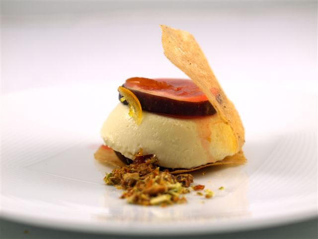 Cheese Pannacotta- Delice de Bourgogne