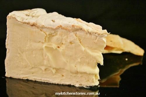 Cheese Pannacotta with Delice de Bourgogne