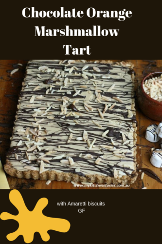 Chocolate Orange Marshmallow Tart