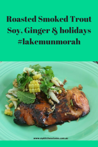 Roasted Salmon, Soy Ginger