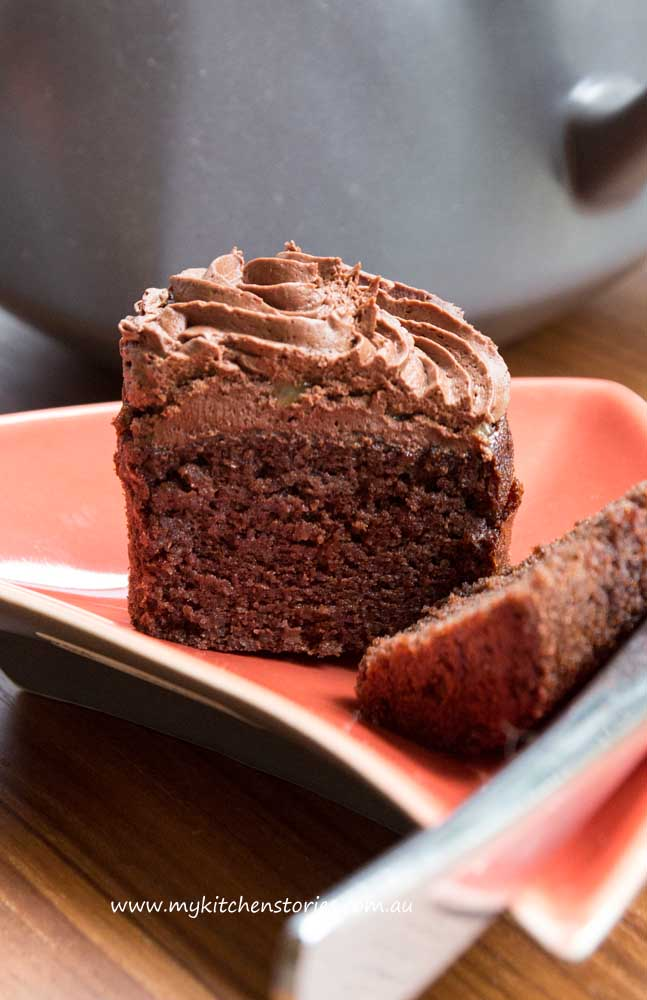 Rice chocolate cake