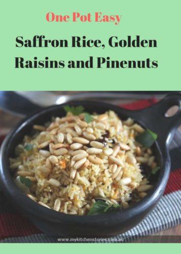 Saffron Rice with Pinenuts