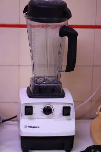 Vitamix on loan for January