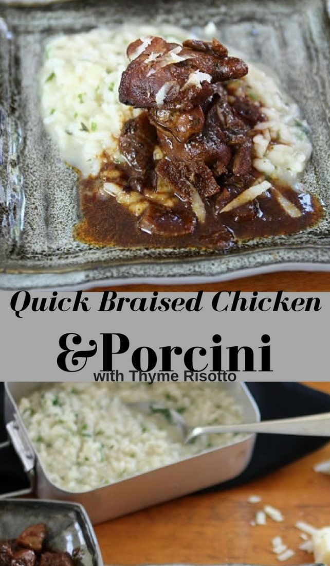 Braised Chicken Porcini