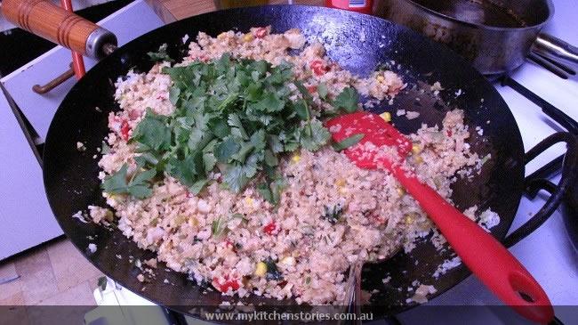 No Carb fried rice