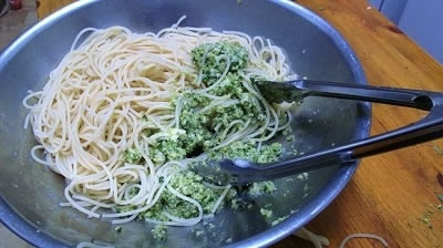 Mmm Broccoli pesto
