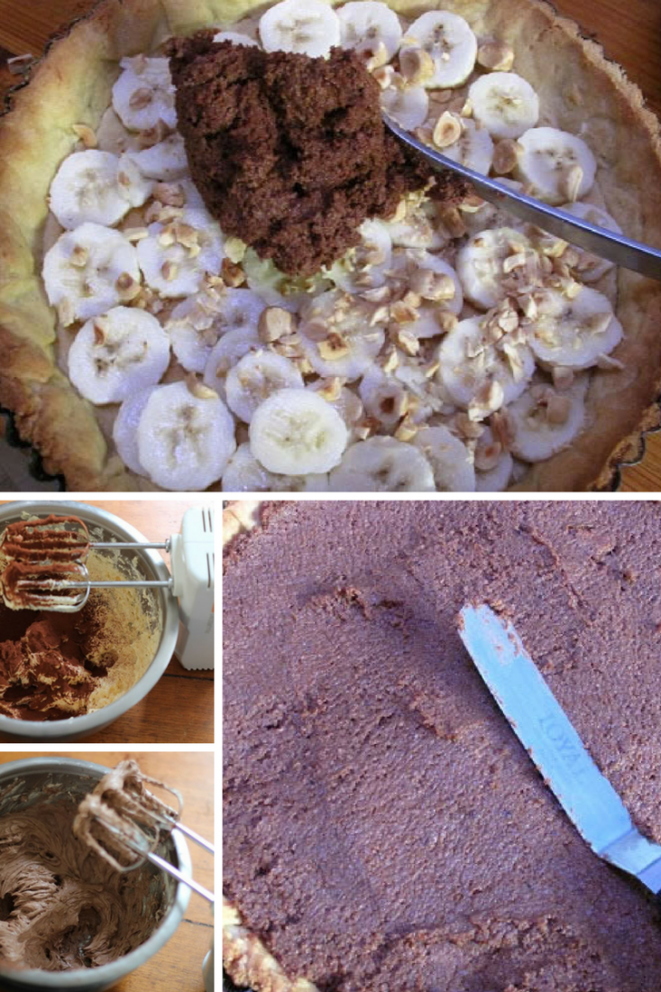 Chocoalte Frangipane Tart