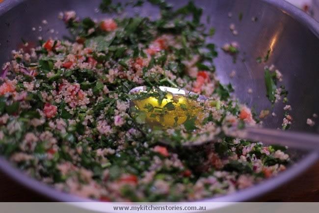 Quinoa tahini