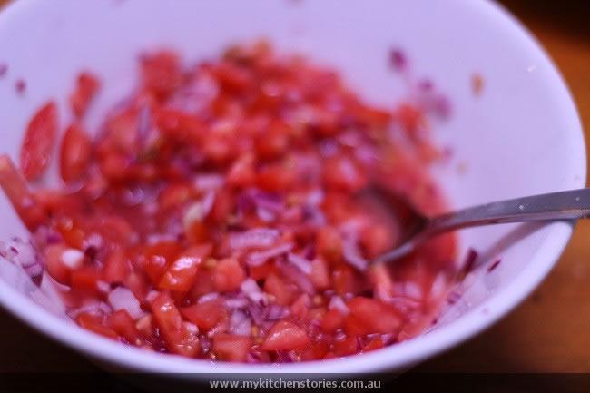 marinated Tomato