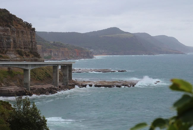 Sea Cliff Bridge. How I love this bridge
