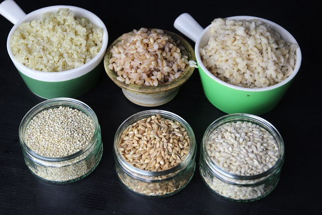 Quinoa,Farro and Barley