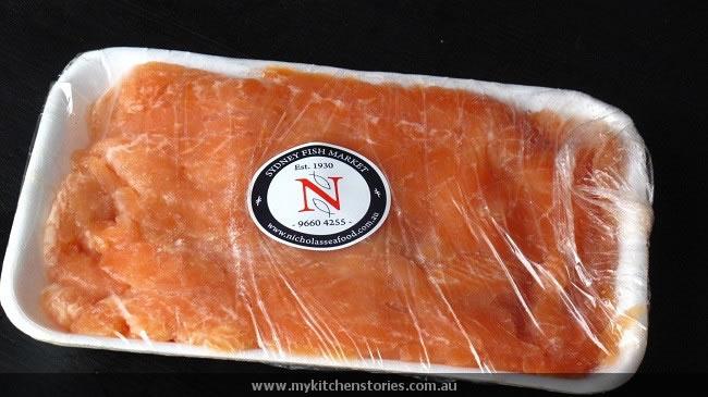 Salmon mince