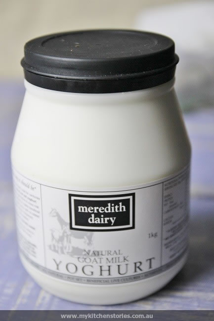 Goat Labneh from meredith dairy