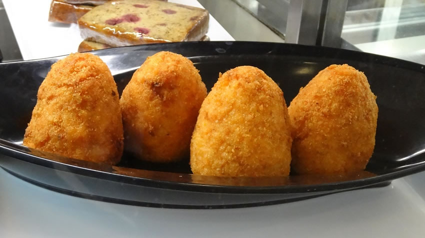 Arancini at Bar Rizzo