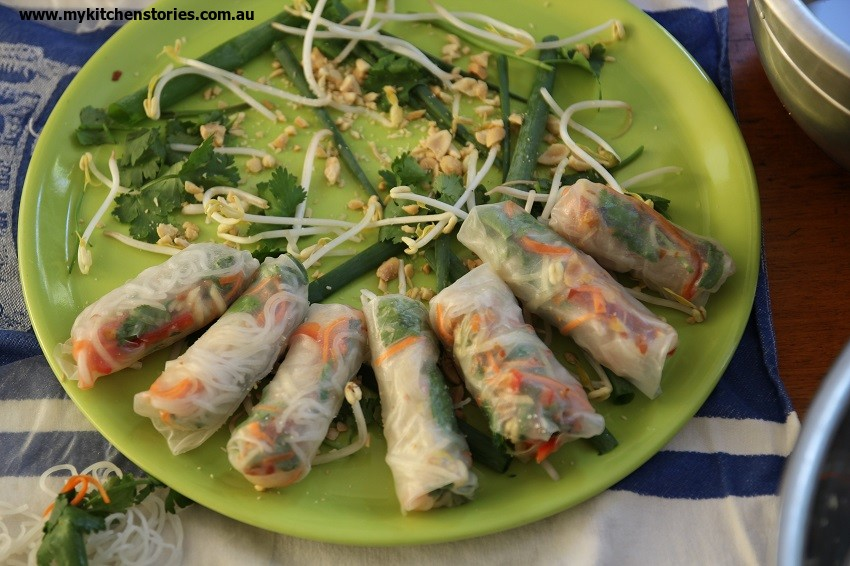 Vietnamese Rolls and how to make them
