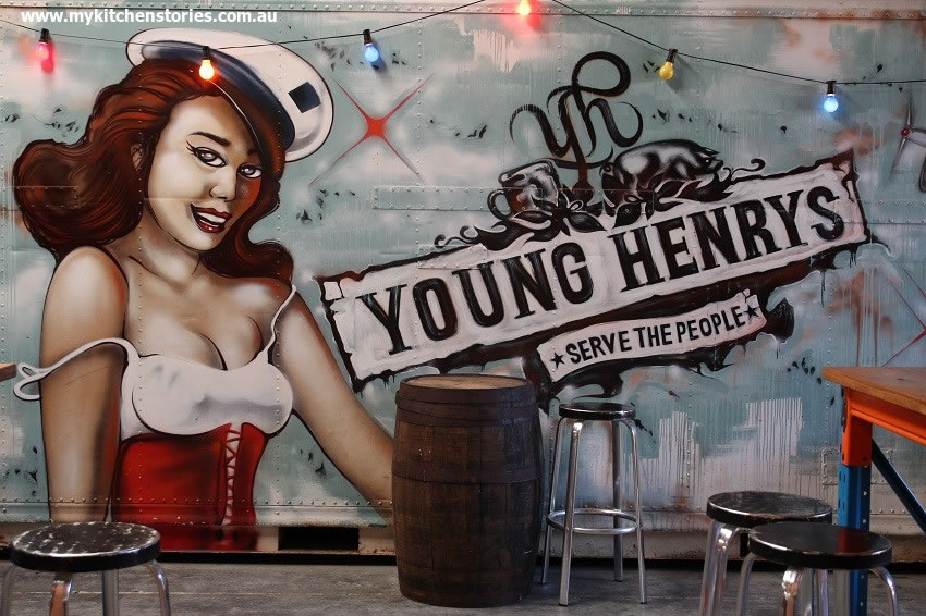 Young henry's