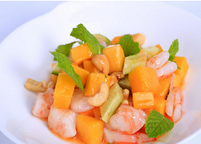 Modern Sweet and Sour Prawns, image Waitan