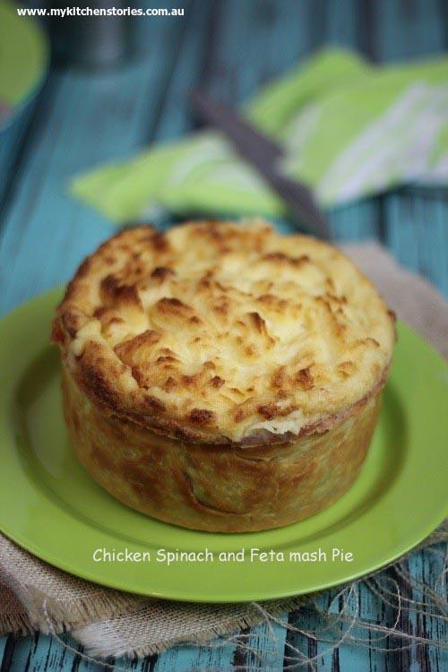 Chicken cottage pie