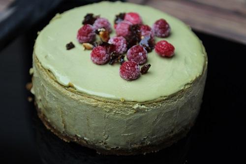 Bronte Pistachio Cheesecake