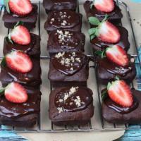 Chocolate Yoghurt Brownies