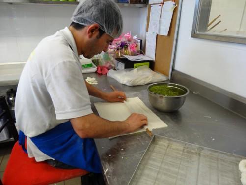 Making baklava 3 a