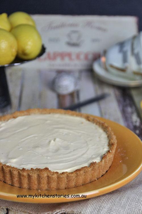 Mascarpone Lemon Tart