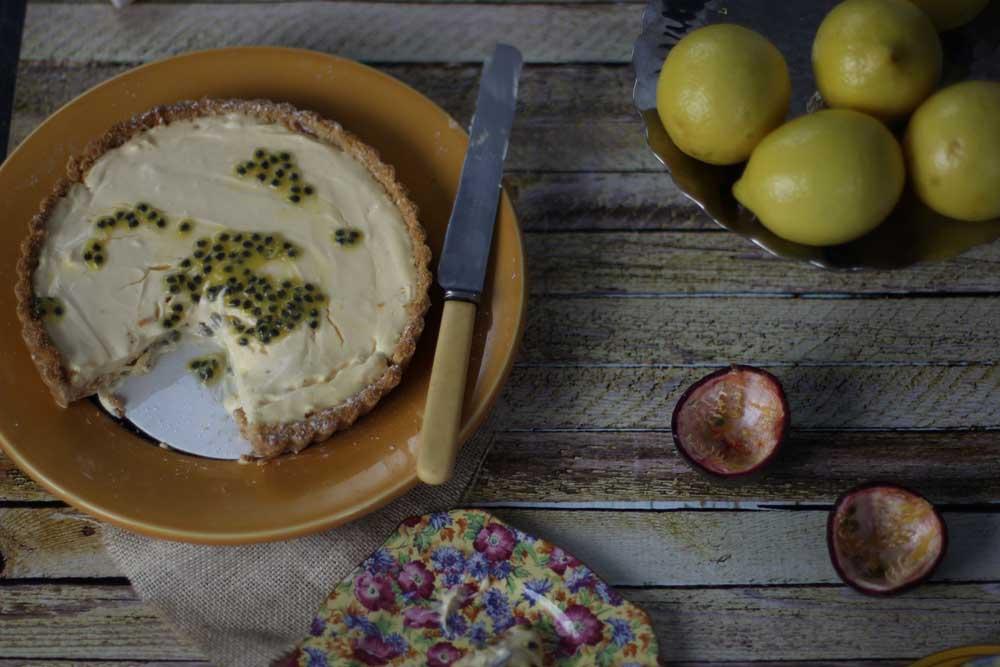 Lemon Curd Mascarpone tart