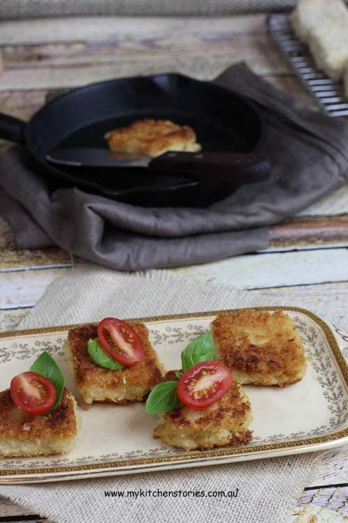 polenta and parmesan