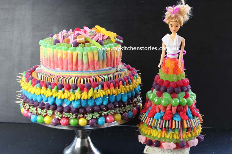Lollies in cakes