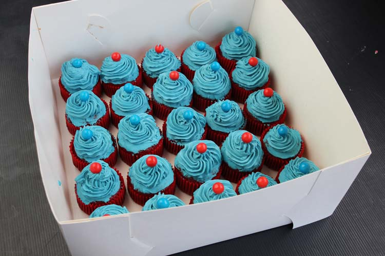 and cupcakes