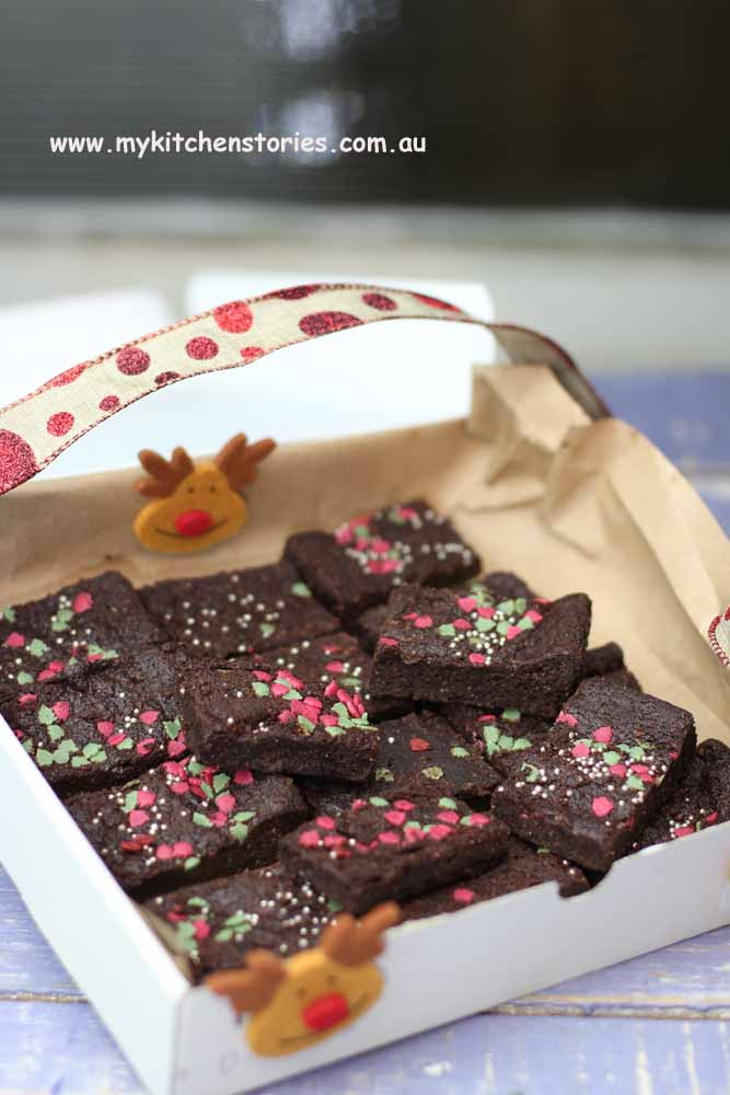 Chocolate shortbread gifts