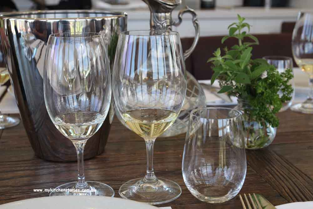 Comparing semillons at Keith Tulloch Winery