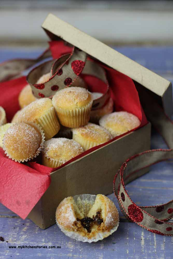 Fruit Mince Muffins packaged
