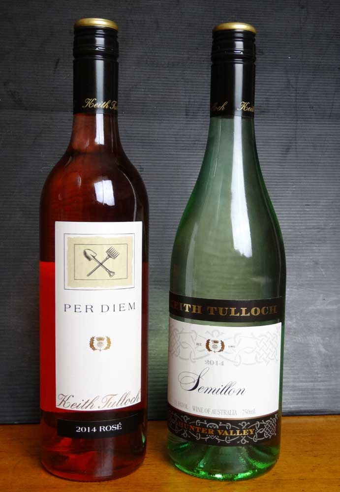 Rose and semillon