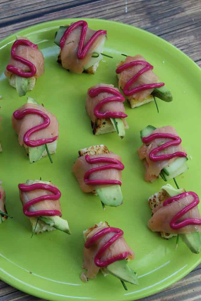Salmon Sushi Toast 2