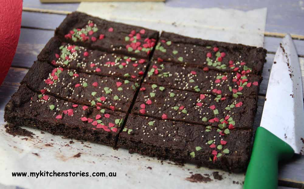 Chocolate Shortbread slab