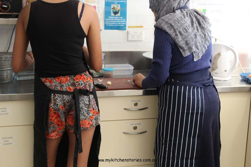 Refugee Cooking classes