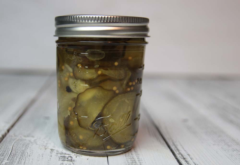 Maureens bread and butter pickles