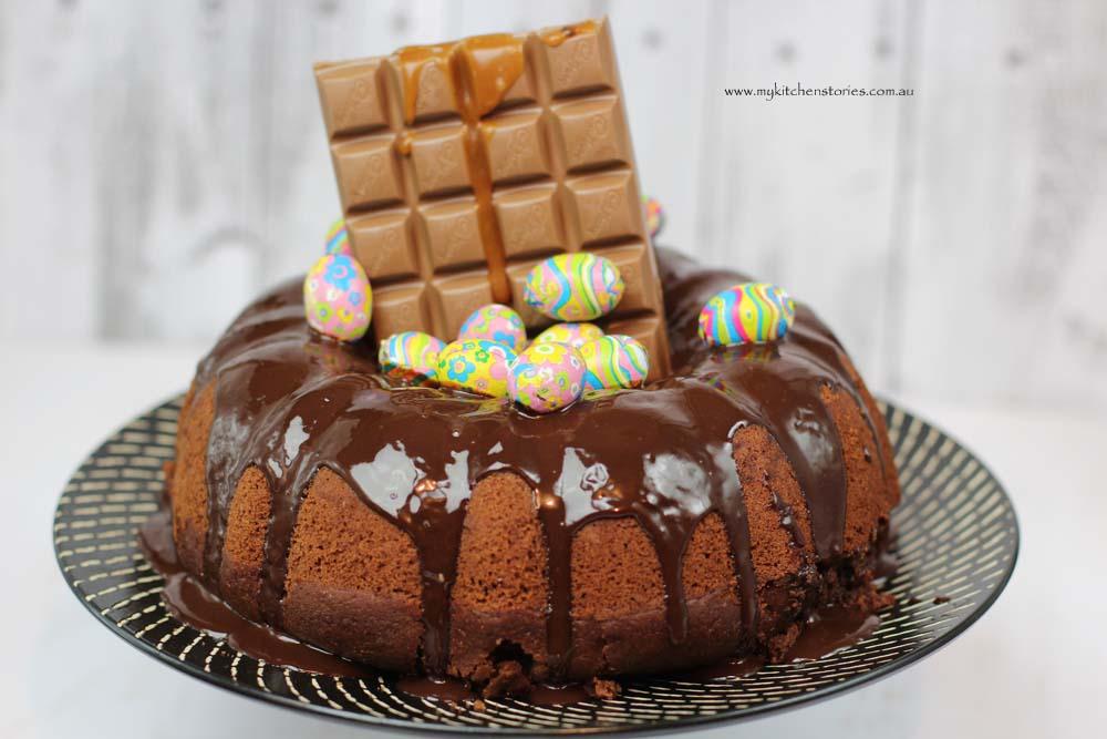 Chocolate Easter bundt