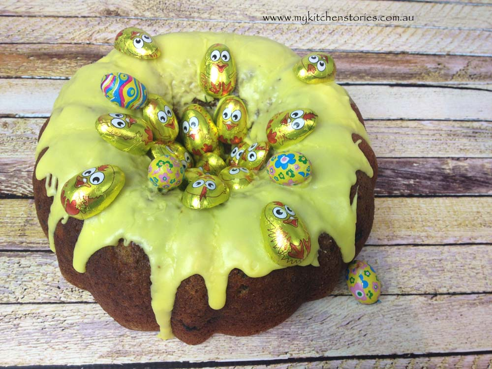 Yellow Easter bundt