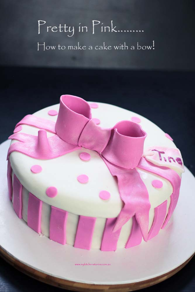 Jojo Bow Cake One Leyer