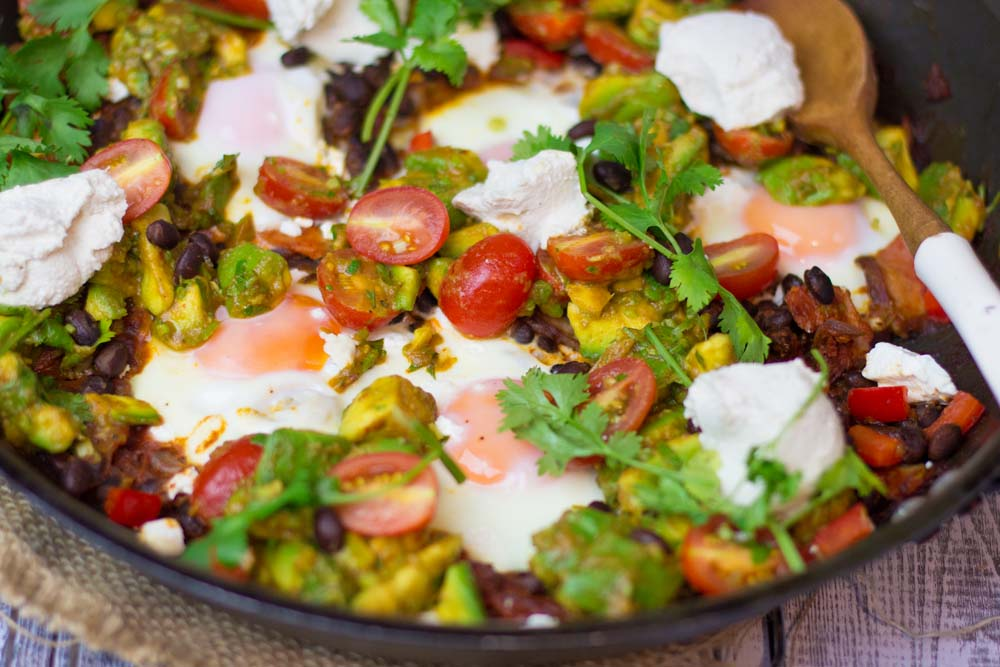 Mexican eggs and chilli
