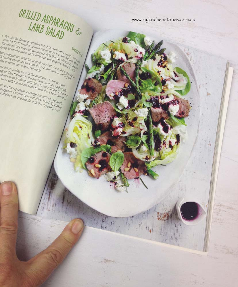 Superfoods lamb salad