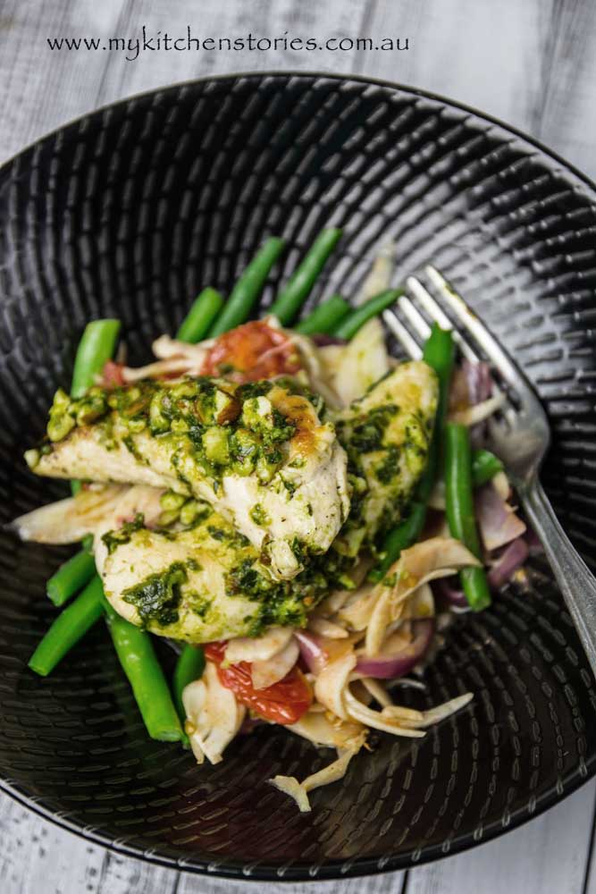 Chicken-with-kale-pesto-and-fennel-My-Kitchen-Stories