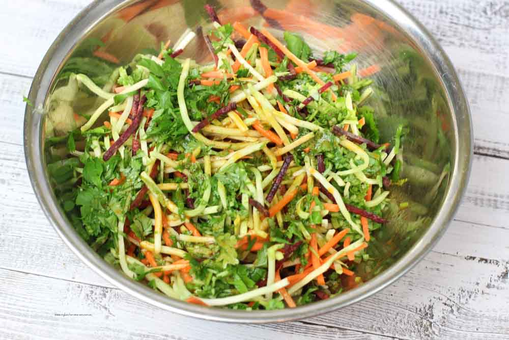 Salad for Mexiacn Bagel