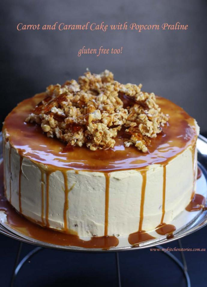 Carrot and Caramel Cake- gluten free