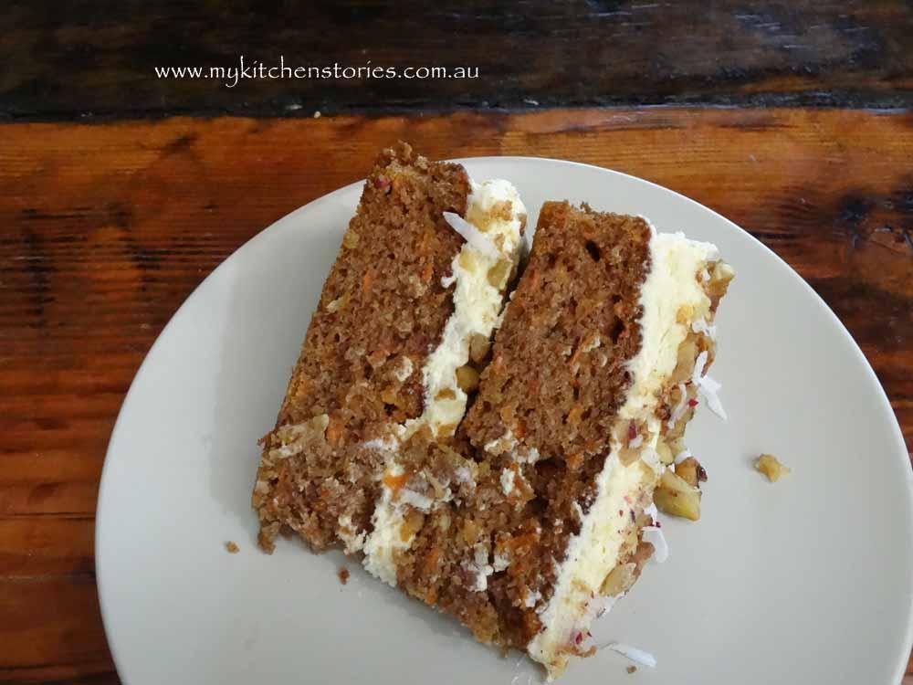 Carrot cake Du Liban